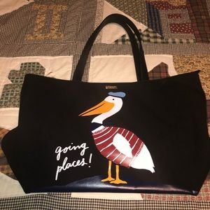 "KATE SPADE ""GOING PLACES"" PELICAN BAG"